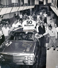 50 millionth Chevrolet Assembly Plant Poster