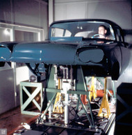 1958 Chevrolet Body GM Research Lab Poster