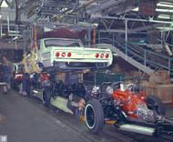 1963 Chevrolet Flint Assembly Plant Poster