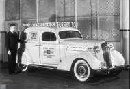 Chevrolet 1936 Master Deluxe Sedan Art Poster