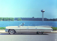 1961 Cadillac Convertible Poster