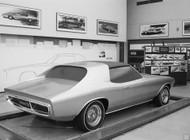 1967 Camaro Aero Coupe Concept Poster