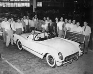 1953 Corvette No. 1 Poster