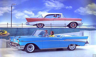 1957 Chevrolet Ad  Poster