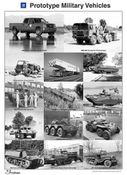 GM Prototype Military Vehicles GM Heritage Collection Poster