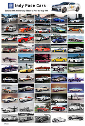 GM Indy Pace Cars 2016 Poster