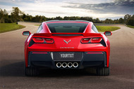 C7 Corvette Personalized Poster