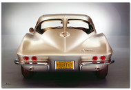 Corvette Sting Ray Personalized Poster