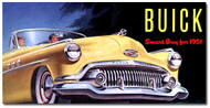 Buick Vintage 1951 Metal Sign