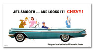 Chevrolet Impala Convertible Vintage 1961 Metal Sign