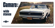 Chevrolet Camaro Vintage 1967 Metal Sign