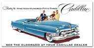 Cadillac Vintage 1953 Billboard Banner