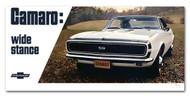 Camaro Wide Stance 1967 Billboard Banner
