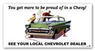 Chevrolet Vintage 1957 Metal Sign