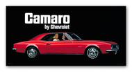 Chevy Camaro Vintage 1967 Metal Sign
