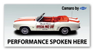 Camaro Vintage 1969 Metal Sign