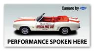 Chevy Camaro Vintage Billboard Banner