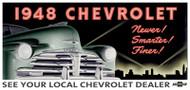 Chevrolet Vintage 1948 Billboard Banner