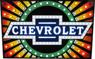 Chevrolet Starbust Dealer Neon Sign