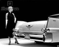1957 Cadillac Coupe DeVille Poster