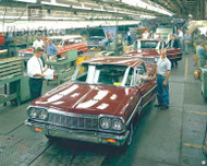 1964 Chevrolet Impala Production Poster