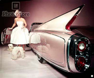 1960 Cadillac Eldorado Biarritz Convertible Poster