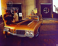 1970 Oldsmobile 442 Holiday Coupe Poster