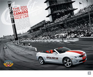 2011  Camaro Indy 500 Pace Car Poster