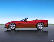 2007 Corvette Poster