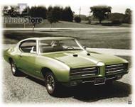 1969 Pontiac GTO Sport Coupe Poster