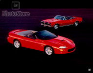 2000 Chevrolet Camaro SS Convertible and 1967 Chevrolet Poster