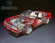 1993 Cadillac Allante Convertible Poster