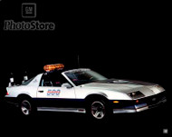 1982 Chevrolet Camaro Z-28 Coupe Indianapolis 500 Pace Car Poster