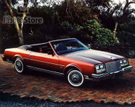 1984 Buick Riviera Convertible Poster