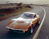1971 Chevrolet Corvette Stingray Coupe Poster