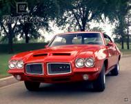 1972 Pontiac GTO Hardtop Coupe Poster