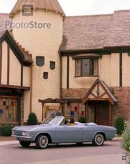 1965 Chevrolet Corvair Corsa Convertible Poster