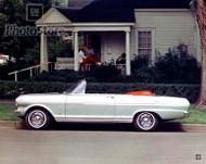 1963 Chevrolet Chevy ll Nova Convertible Poster