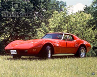 1976 Chevrolet Corvette Stingray T-Top Coupe Poster