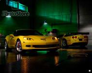 2006 Chevrolet Corvette Z06 & C6.R Poster