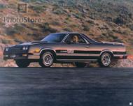 1984 Chevrolet El Camino SS Poster