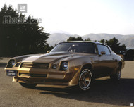 1981 Chevrolet Camaro Z28 Coupe Poster