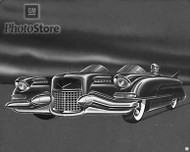1950 Cadillac Design Proposal Artwork Poster