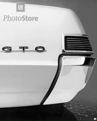1965 Pontiac GTO Badge Detail Poster