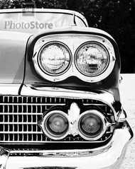 1958 Chevrolet Bel Air Sport Sedan Poster