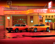 1999 Pontiac GTO Concept and 1969 Judge Poster