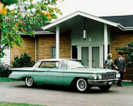 1960 Oldsmobile Dynamic 88 Holiday Sport Poster