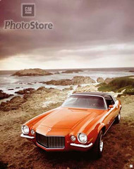1972 Chevrolet Camaro RS Coupe Poster