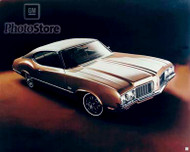 1970 Oldsmobile Cutlass Holiday Coupe Poster