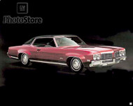 1970 Oldsmobile Delta 88 Holiday Coupe Poster